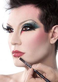 workshop drag queen make-up stefania d'alessandro make-up   sdmakeup