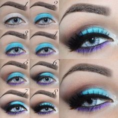 "Summer Eyeshadow Ideas Receive terrific pointers on ""Urban decay eyeshadow"". Summer Eyeshadow, Eyeshadow Looks, Eyeshadow Makeup, Eyeshadows, Purple Eyeshadow, Crazy Eyeshadow, Everyday Eyeshadow, Purple Makeup, Everyday Makeup"