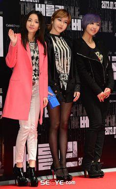 Dara + Bom + Minzy