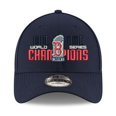 e093e1134be2 Boston Red Sox New Era 2018 World Series Champions Multi Champ 9FORTY Adjustable  Hat – Navy