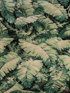 Feuilles de bananier, réédition 2011 de Madeleine Castaing  Palm Beach style- i want a wall covering like this