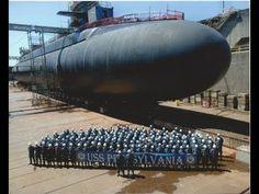 USS Pennsylvania - Largest Submarine in US Millitary Navy Marine, Navy Military, Croiseur Lourd, Poder Naval, Uss Pennsylvania, Naval History, Women's History, British History, Yachts