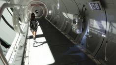 Space craft interior style idea