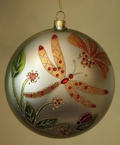 Dragonfly Christmas ornament????  YES!