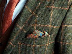 .Tweed Windowpane