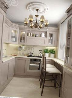 Обратились к дизайнеру Карле Шмид. Было решено объединить квартиру в одно целое с просторными открытыми помещениями. Старая кухня.