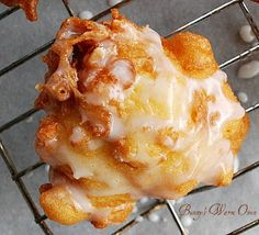 Bunny's Warm Oven: Delicious Fresh Peach Fritters