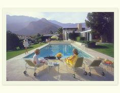 vintage palm springs interior design    Frank Sinatra's 1947 Twin Palms Estate and the infamous grand ...