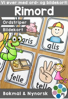 Browse educational resources created by Malimo - norsk undervisningsmateriell in the official Teachers Pay Teachers store. Word Families, Language, Teaching, Education, Comics, Baby, Pictures, Speech And Language, Comic Book