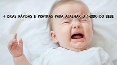 O choro é a forma do bebé comunicar com o Mundo nos primeiros tempos de vida. É através do choro que o bebé transmite as suas necessidades, seja fome, calo