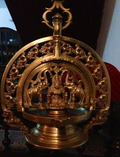 Thook Bolcha- the sacred lamp of Coorg