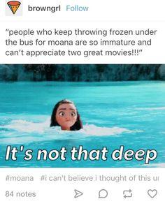 Moana frozen