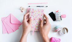 Mi primera máquina de coser: Diy: cuadernos personalizados