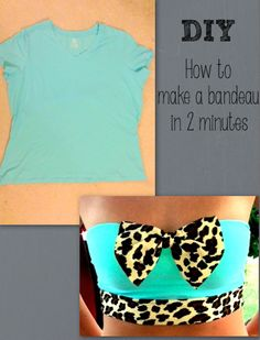 Cute Clothing Diys Cute bandeau in min