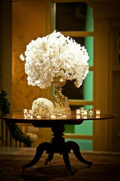 Elegant Ballroom Wedding by Cunningham Photo Artists - Southern Weddings Magazine