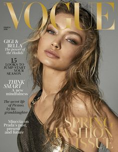 It's in the genes! Additionally both sisters have landed their own colour cover, posing in... #gigihadid #models #blackandwhite