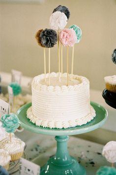 O topo do bolo / Cake toppers