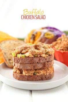 Buffalo Chicken Salad   5 Healthy Back-To-School Recipes and Giveaway!