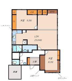 古くて新しくて、とびきり可愛い平屋。 - 物件ファン Floor Plans, Flat, Interior, House, Bass, Indoor, Home, Interiors, Homes