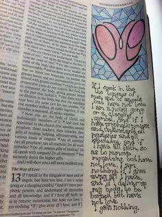 Bible journal 10/08/15