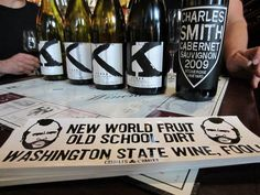 I swear, his bumper stickers just get better and better. Charles Smith at @KVintners