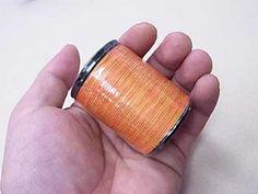 金亀 レインボーキルト糸 col.12【#40/300 金亀キルト糸】