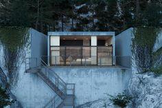 Modern concrete house - Adorable Home