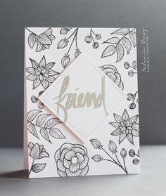 Striped Florals Stamp Set - Altenew  - 1