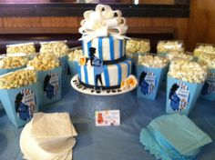 Ready to pop! Baby shower theme