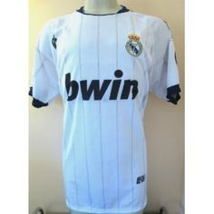 """REAL MADRID # 8 KAKA HOME SOCCER JERSEY SIZE LARGE. NEW. by AGMAR. $24.95. JERSEY. LARGE. NEW. SOCCER. GREAT QUALITY. REAL MADRID  # 8 KAKA  SOCCER JERSEY  THIS JERSEY IS REPLICA JERSEY ( MADE IN PERU )    YOU MUST ADD THIS ONE TO YOUR COLLECTION !!!! SIZE USA LARGE 22""""ARMPIT TO ARMPIT BY 29"""" FROM NECK TO BOTTOM.  THIS JERSEY IS AWESOME. GREAT DETAILS. COLLECTORS ITEM.  MADE DURABLE, BREATHABLE POLYESTER (100%).  EMBROIDERY SOCCER TEAM LOGO.    THIS JERSEY HAS AN ELEGANTLY SL..."""
