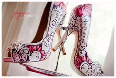 Custom Hand-Painted Shoes by Figgie Shoes