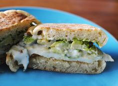 favorite versions includes an egg, sliced avocado, salt, pepper, and {an extra special ingredient} tzatziki sauce on a lightly toasted english muffin. With it's light, creamy texture and thin pickled cucumbers, the tzatziki adds the perfect extra kick!