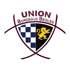 Logo of Union Bordeaux-Bègles French Rugby Union, Exeter Chiefs, Rugby Union Teams, Rugby Championship, Rugby Sport, Challenge Cup, Team Mascots, Embroidery, Rugby