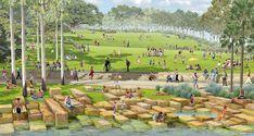 Barangaroo_Headland-Park-25-View-from-shoreline-to-top-of-headland-PWPLA « Landscape Architecture Works | Landezine