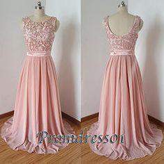 #promdress01 prom dresses - 2015 elegant pink lace open back long prom dress for teens, modest dress, occasion dress #prom2k15 #promdress -> www.promdress01.c... #coniefox #2016prom