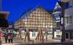 """Una """"Linterna"""" de madera en Sandnes, Noruega"""