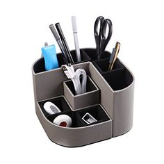 Office & School Supplies Humor Office Desktop Decor Storage Box Leather Organizer Mail Notes Business Card Pen Pencil Remote Control Mobile Phone Holder Rich In Poetic And Pictorial Splendor Desk Accessories & Organizer