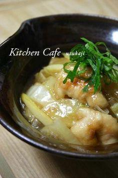 「白菜と鶏肉のトロっと煮」野菜がた~っぷりと食べられる、白菜と鶏肉のトロっと煮♪【楽天レシピ】