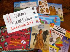 Our plan for studying early American history with American Girl doll Kaya. Resources, crafts, activities and more. From Creekside Learning.