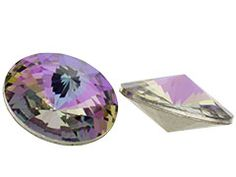 Love Swarovski Crystal Rivolis--want to use them in everything!!!!