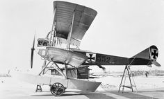GERMAN AIRCRAFT FIRST WORLD WAR (Q 67268)   Albatros W1 two-seat seaplane. Serial number 552 Photograph taken at Danzig (Gdańsk).