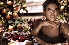 #dolcegabbana Jewellery Mamma campaign featuring Bianca Balti