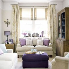 roomenvy - luscious lilac living room