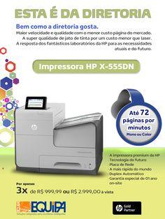 Impressora HP X-555dn