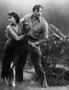 Fay Wray and Joel McCrea in The Most Dangerous Game (Irving Pichel, 1932)  via hanichiban