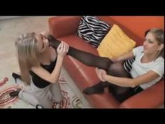 Pantyhose feet you tube