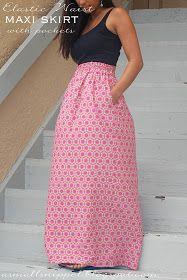 A Small Snippet: Elastic Waist Skirt