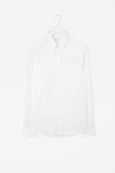 COS   Clean placket oxford shirt