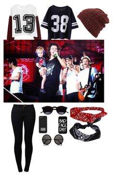 """one direction style"" by andreea-andreuta-andri ❤ liked on Polyvore featuring Cocopop, Noisy May, Inverni, The Row, Chicnova Fashion, MICHAEL Michael Kors, Local Heroes and ASOS"