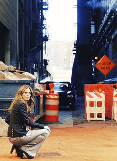 Stana Katic as Fierce Detective Kate Beckett <3